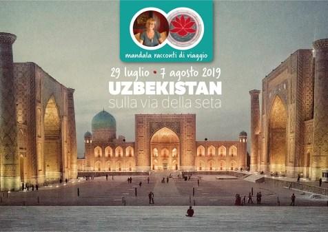 Diario di viaggio Uzbekistan Tavola disegno 1