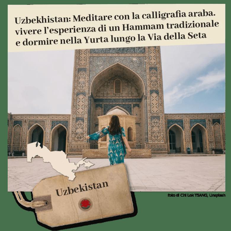 Uzbekistan viaggi spiritualita e benessere di Monica Morganti
