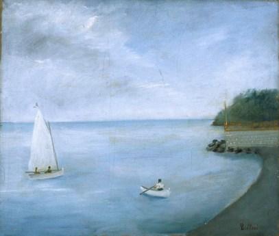 Umberto Lilloni, Paesaggio di Lavagna, 1934, olio su tela, cm 60 x 70, Fondazione Cariplo
