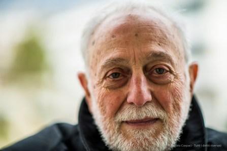 "Pietro Giovanni Guzzo, Archeologist. Chiasso, February 2018. Nikon D810, 85 mm (85.0 mm ƒ/1.4) 1/1250"" ƒ/1.4 ISO 80"