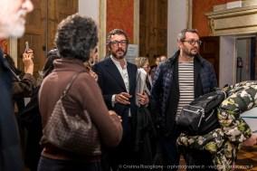 I curatori, Davide Quadrio e Massimo Torrigiani.