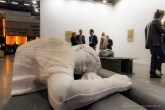 Patrick Tuttofuoco, The Power Napper (white Rio) , 2017. Federica Schiavo Gallery. MiArt 2018