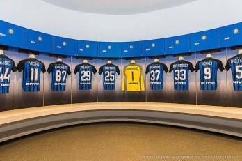 Spogliatoio dell'Inter