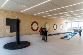 Michael Heizer, PinoPascali. Torre Fondazione Prada, Milano