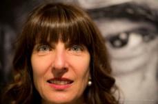 Raffaella Resch, curatrice, Aosta, aprile 2018