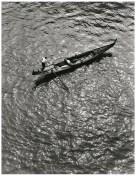 Fulvio Roiter, Gondola dall'alto del Ponte di Rialto 1953 © Fondazione Fulvio Roiter