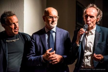 Da sx: Gianni Maimeri, Angelo Crespi, Beat Kuert.