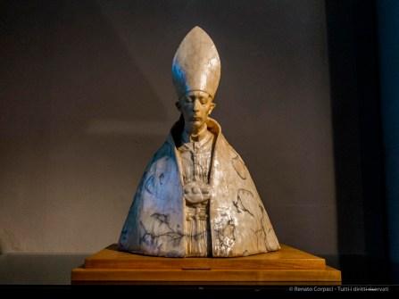 Francssco Messina, Busto in cera del Cardinale Ildefonso Schuster (c.ca 1941)