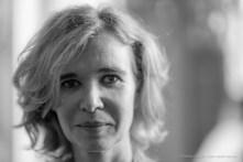 Sabine Vazieux (Galerie Sabine Vazieux-Paris), mercante d'arte, curatrice. Monza, giugno 2018