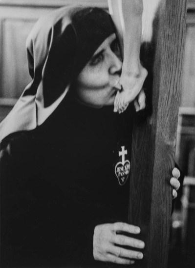 Monastero di Ovada, Passioniste, 1973 © Michele Pellegrino