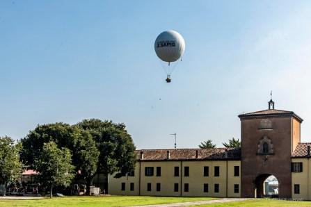 La Torre della Corte Virgiliana, residenza storica dei Gonzaga, costruita nel 1330 sulle rovine della casa natale di Publio Virgilio Marone.
