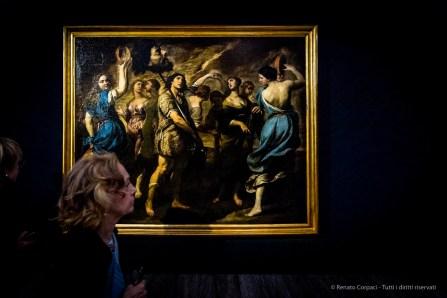 Andrea Vaccaro, Il trionfo di Davide, 1650 circa