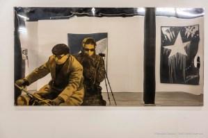 """Michelangelo Pistoletto, Motociclisti. Spazio -1, Collezione Danna e Giancarlo Olgiati, Lugano, September 2018. Nikon D810, 78 mm (24-120 mm ƒ/4) 0,8"""", ƒ/10 ISO 64"""