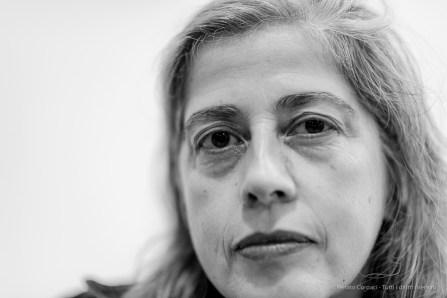 Leonor Antunes, artista. Milano, Settembre 2018.
