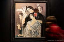 Francis Picabia, Femmes Espagnoles circa 1925. Gouache su cartone 1010 x 860 cm. Rotterdam, Museo Boijmans Van Beuningen