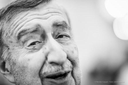 Italo Lupi, architetto, designer grafico. Milano, Dicembre 2018
