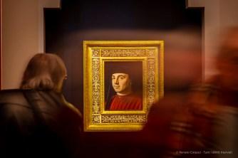 Antonello da Messina, Ritratto d'uomo (Michele Vianello?) (1475 circa), olio e tempera su tavola; 31 x 25,2 cm, Roma, Polo Museale Romano – Galleria Borghese