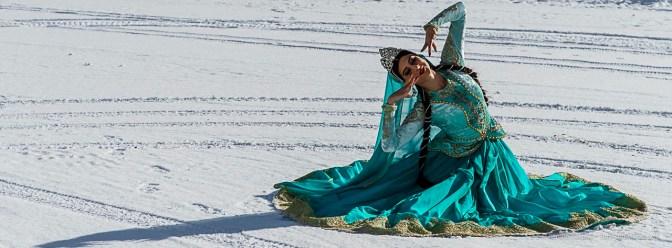 Sarhadchi Ensemble Dancer. Sankt Moritz, January 2019