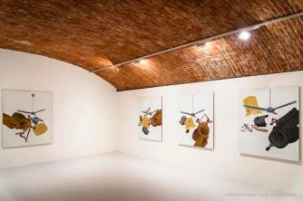 Emilio Tadini, Ventilatore, 1972, acrilici su tela acrylics on canvas 146 x 114 cm
