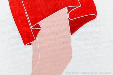 Emilio Tadini, Viaggio in Italia, 1971 acrilici su tela - acrylics on canvas (particolare)