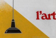 Emilio Tadini, Paesaggio di Malevič, 1971 acrilici su tela - acrylics on canvas (particolare)