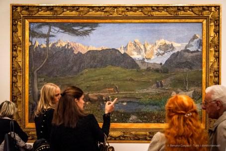 Giovanni Segantini, La Vita 1896‒1899 Olio su tela. Museo Segantini, St. Moritz © Museo Segantini, St. Moritz
