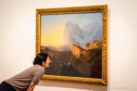 Alexandre Calame, Le grand Eiger (Il grande Eiger) 1844 Olio su tela 104 x 138. Kunstmuseum Bern © Kunstmuseum Bern