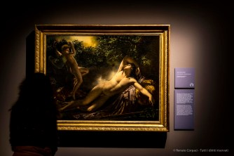 Anne-Louis Girodet Le Sommeil d'Endymion 1791 olio su tela. Musée Girodet, Montargis