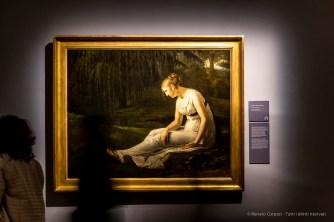 Constance-Marie Charpentier, La Mélancolie 1861 olio su tela 130 165 cm. Musée de Picardie, Amiens