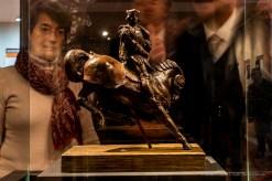 """Leonardo Da Vinci, """"Horse And Rider"""", scultura equestre a Charles d'Amboise. Milano, November 2016. Nikon D750, 24 mm (24.0 mm ƒ/1.4) 0.5"""" ƒ/8 ISO 100"""
