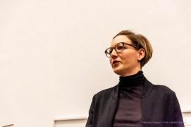 Natascha Burger, curatrice Birgit Jüngerssen Estate. Bergamo, marzo 2019