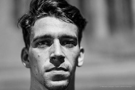 Clement Haenen, dancer Aterballetto. Reggio Emilia, April 2019. D810, 85 mm (85 mm ƒ/1.4) 1/125 ƒ/1.4 ISO 450