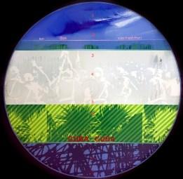 Fernando De Filippi, Cuba-Cuba 1970 Acrilico su tela cm 100 x 100 ph. Chiara Fasoli