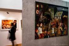 Nan Goldin, Greer and Robert on the bed, NYC, 1982, 1982; Nicole Eisenman, Beasley Street, 2007. Studio Iannaccone & Associati. Milano, April 2019