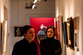 Luigi Ontani, Il Poeta Arturo Martini Cechovia, 2007. Studio Iannaccone & Associati. Milano, April 2019