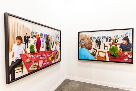 David Hockney, Lelong, Miart 2019