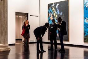 Georg Baselitz, Baselitz Academy. Gallerie dell'Accademia.Venezia, maggio 2019