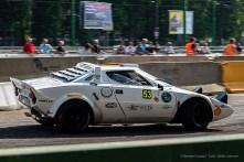 """Tony Fassina e Marco Verdelli, secondi nella categoria"""" auto storiche"""" con la Lancia Stratos Hf"""