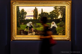 John Everett Millais, La valle del riposo, 1858-59