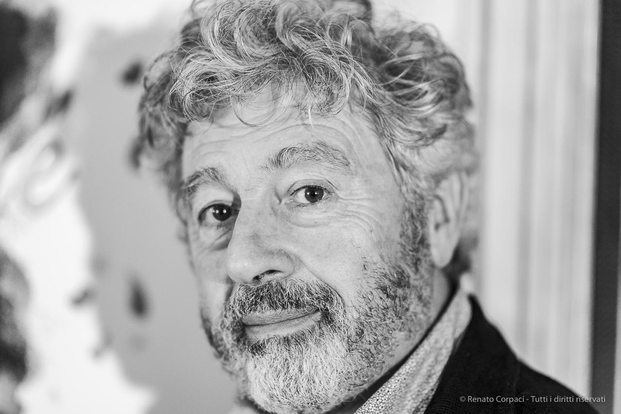 Antonio Catania, attore. Milano, ottobre 2019