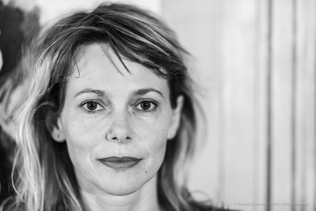 Barbora Bobulova, attrice. Milano, ottobre 2019