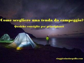 Come scegliere una tenda da campeggio