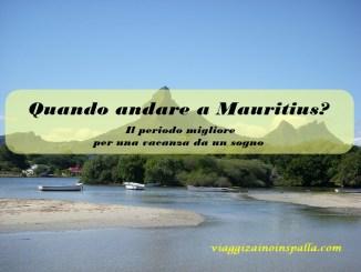 Quando andare alle Mauritius