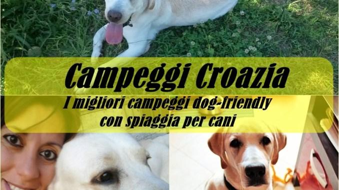Camping croazia per cani