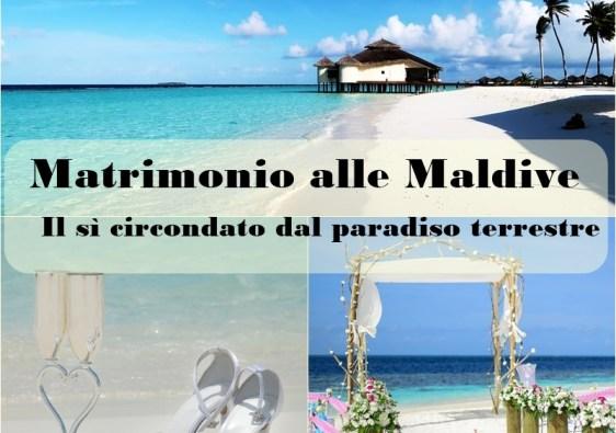 matrimonio alle Maldive: come fare