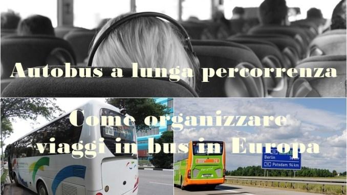 autobus a lunga percorrenza in Europa