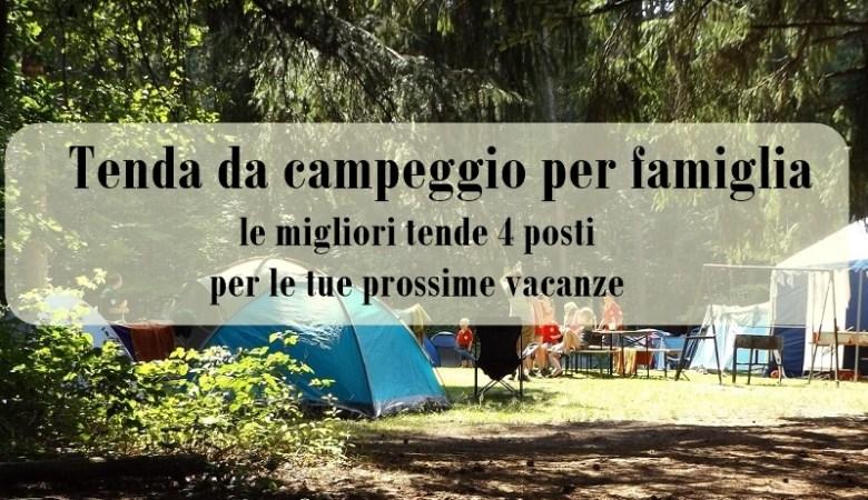 Tenda da campeggio per famiglia page