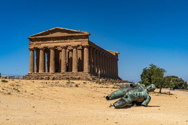 Sicilia in camper valle dei templi