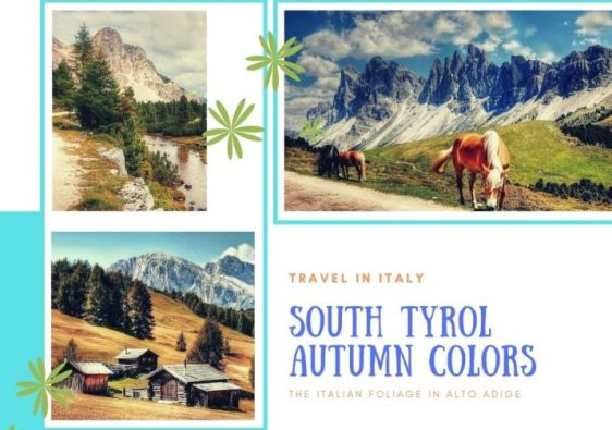 South Tyrol in Autumn