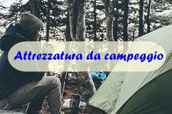 Attrezzatura da campeggio